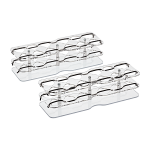 Tube Rack Short (set of two for 24 tubes)